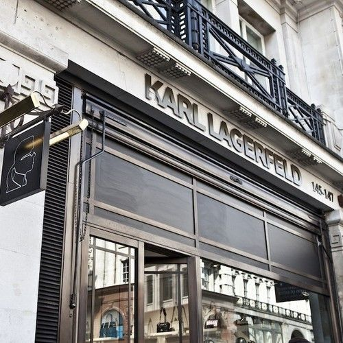 Last week #RegentStreet saw the opening of Karl Lagerfeld's first flagship store in the UK.