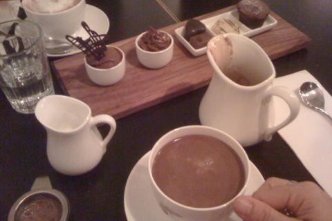 horká čokoláda recept
