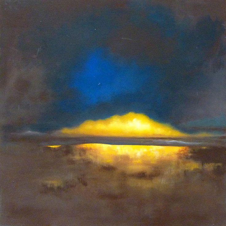 Lumière II par Hélène Fleury, artiste présentement exposée aux Galeries Beauchamp.  www.galeriebeauchamp.com