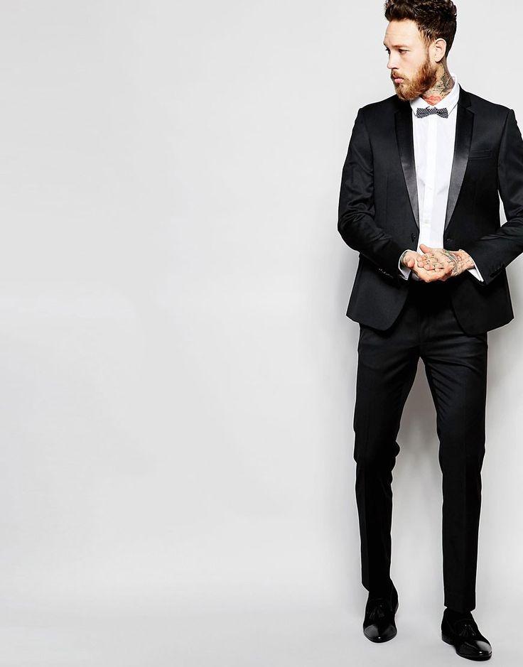 ASOS+Skinny+Tuxedo+in+Black