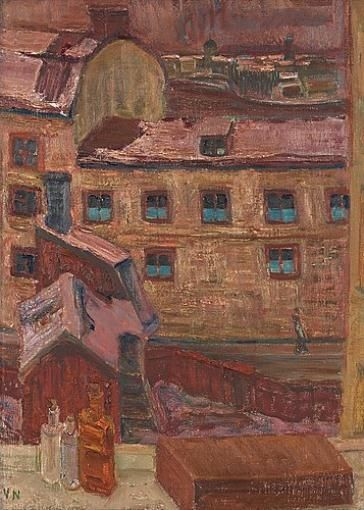 Vera Nilsson, Gubbhuset I (Bachelor Hotel)