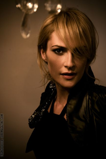 Emily Haines, Not only does she have the coolest voice, she has the most badass style.
