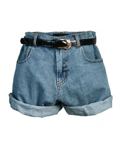 Retro Oversized Denim Shorts http://pinterest.com/sophiago/take-me-there/