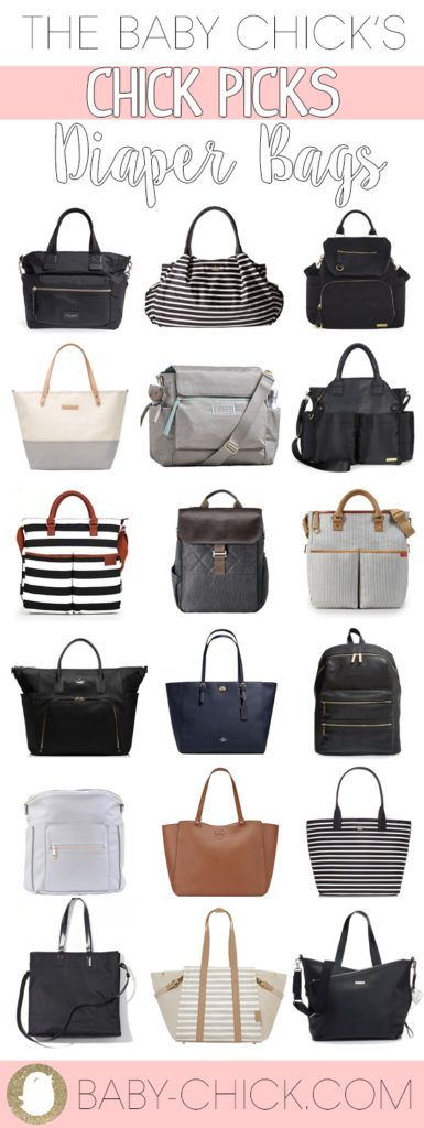 The ultimate diaper bag list for every mama. We have taken the guesswork out of picking a diaper bag and have selected the top sellers. Check out our Chick Picks of Diaper Bags here!