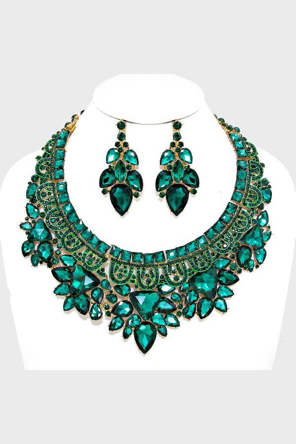 Women's Statement Fashion Necklaces | Crystal Jewelry & Accessories | Emma Stine Limited