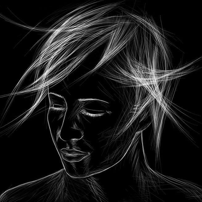 Portrait by Sofia Deloudi
