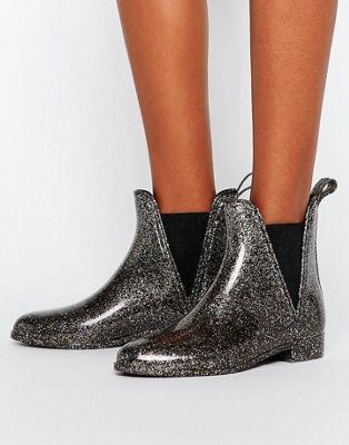 Резиновые ботинки челси ASOS GAME