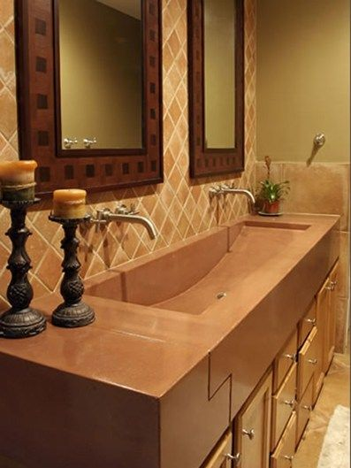 Custom Bathroom Vanities Orlando 33 best concrete sinks images on pinterest | concrete sink