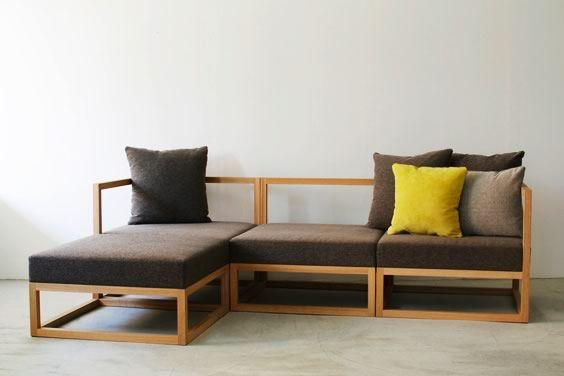 Muebles modulares desde Japón