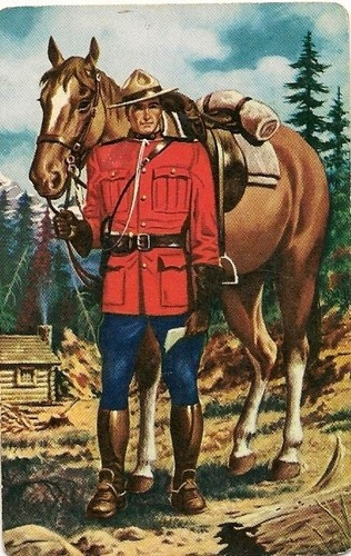 Swap Playing Cards Single Mountie Horse
