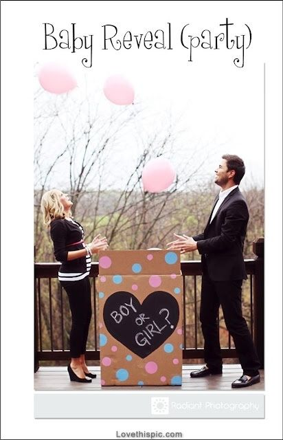 Baby Reveal Party Pictures, Photos, and Images for Facebook, Tumblr, Pinterest, and Twitter