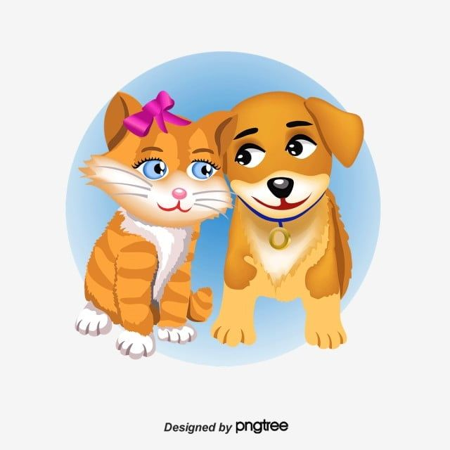 Hand Painted Cartoon Cat Couple Cute Dog Cartoon Vector Cat Vector Couple Vector Png Transparent Clipart Image And Psd File For Free Download Cat Vector Dog Logo Design Cat Clipart