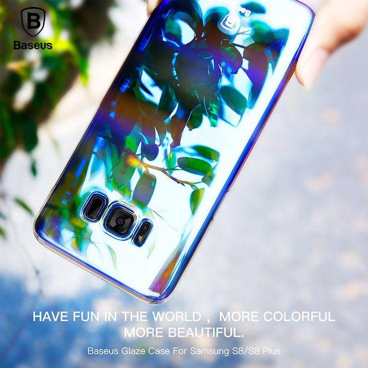 Baseus Case For Samsung Galaxy S8 Luxury Aurora Gradient