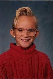 bad school pictures - Yah , you girls  remember rocking that foot high wave of bangs .