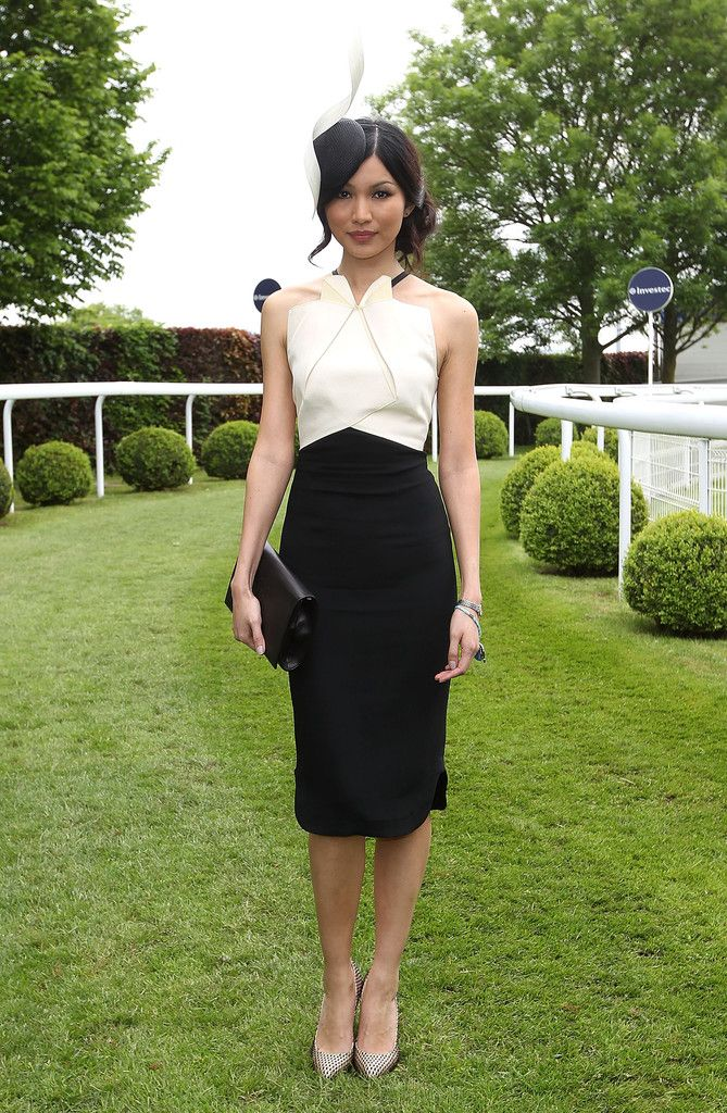 Gemma Chan - Derby Day at The Derby Festival in Epsom, United Kingdom. (June 2013)