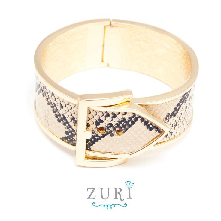 Buckle Snakeskin Bracelet R160  #NewInStore #Fashion #Jewellery
