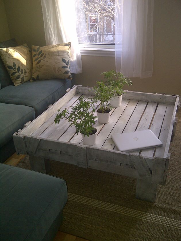 Industric Repurposed Pallet Table http://www.facebook.com/pages/Industric/337603712952585