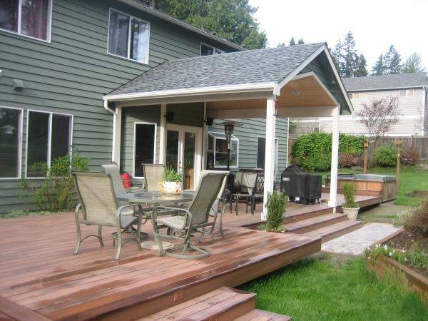 17 best images about deck ideas for your home on for Porch roof types