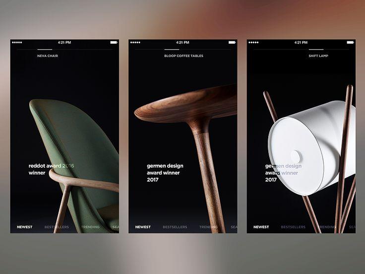 Minimalist Shopping App by Ugur Erbas #Design Popular #Dribbble #shots