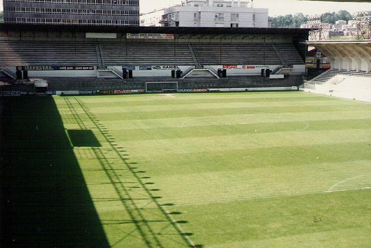 Estadio de Atocha (Real Sociedad de Fútbol) en los años 70.