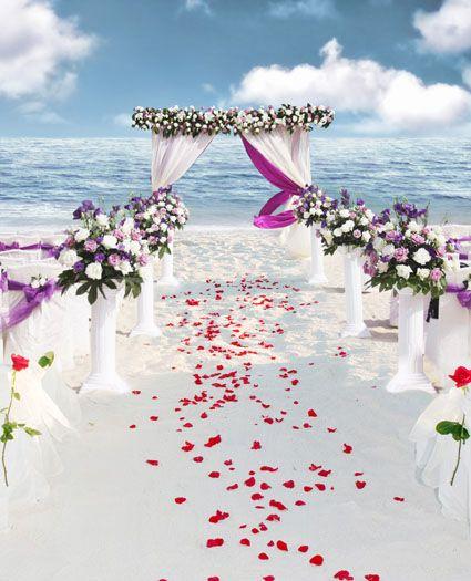Sea Beach wedding Backgrounds Photo Studio 5Feet-7Feet Backdrops Photography Vinly Backdrops For Photography Backgrounds