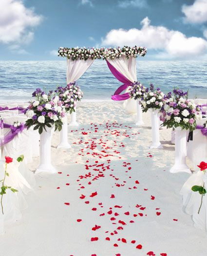 Sea Beach wedding Backgrounds Photo Studio 5Feet-7Feet Backdrops Photography Vinly Backdrops For Photography Backgrounds