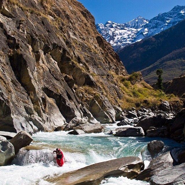 Upper Reaches Of The Thile Beri River In Nepal Photo Nate Klema Via Dagger Whitewater KayakingCanoeingPaddleRaftingExtreme