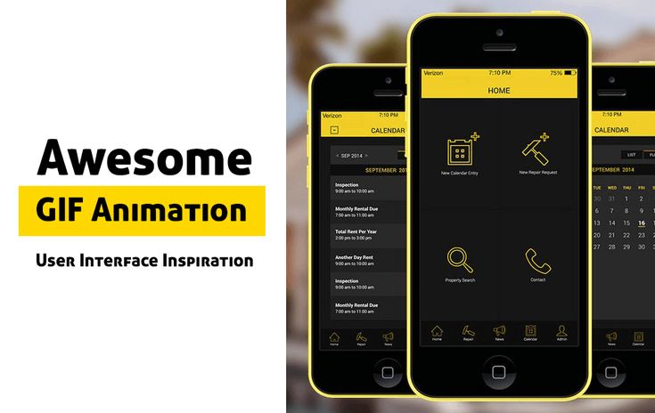 We are going to start weekly inspiration series named with User Interface Inspiration. So, we compiled 20 Gif UI Designs for your Inspiration.