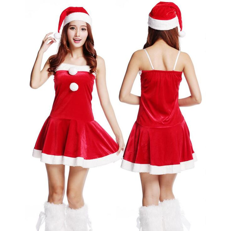2016 Adult Women Christmas Costumes Sexy Ladies Xmas Party Dress Red Miss Santa Dress With Christmas Hat Free Shipping sexy hot♦️ SMS - F A S H I O N 💢👉🏿 http://www.sms.hr/products/2016-adult-women-christmas-costumes-sexy-ladies-xmas-party-dress-red-miss-santa-dress-with-christmas-hat-free-shipping-sexy-hot/ US $23.49