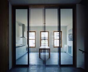 RAPP + RAPP Santen_huis - interieur - moderne en-suite deuren