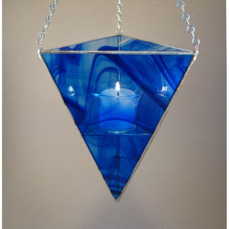72 Best Stained Glass Candle Holders Images On Pinterest