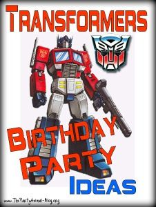 Those Robots in Disguise are taking us by storm and so many kids want to have a Transformers Birthday Party Theme. So let me show you some Transformers Party Supplies and Ideas available to help you out.