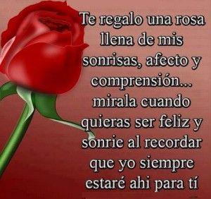 imagenes de rosas con palabras bonitas