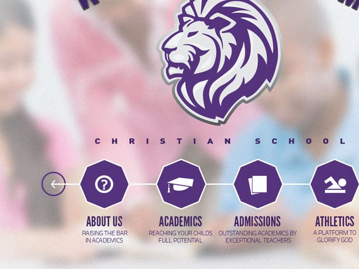 Academic Institution Website Header by Steven Miller