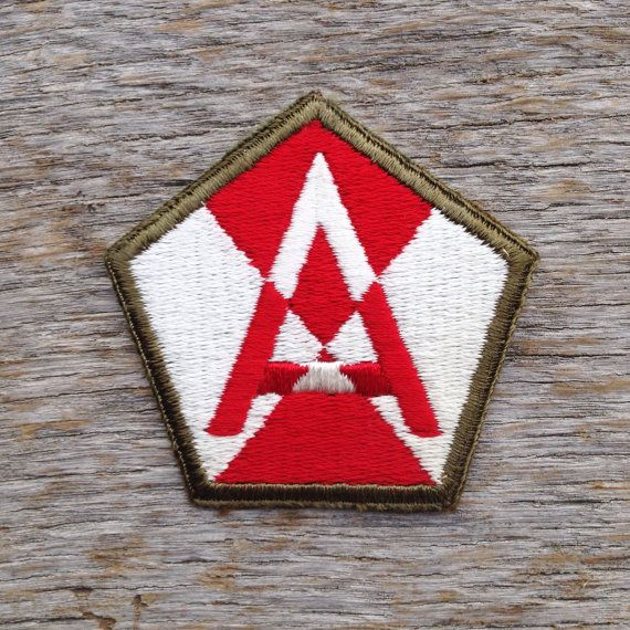 Vintage World War II U.S. Fifteenth Army Patch by tincanvintage