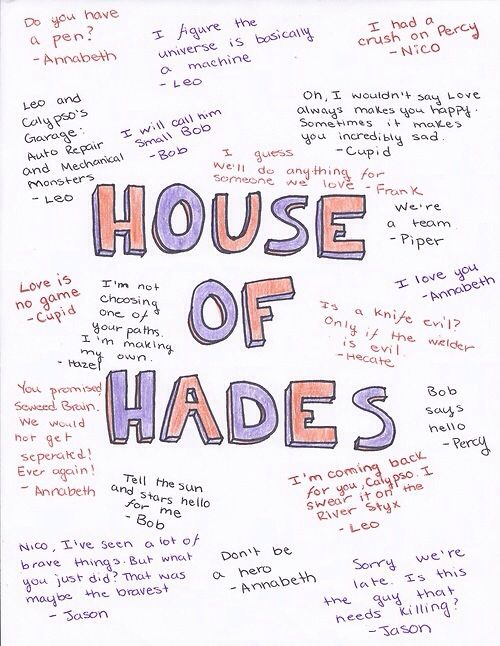 House of Hades Quotes I love this person's f's!
