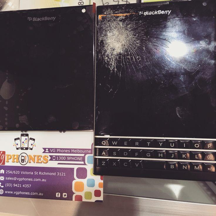 Blackberry passport screen repairs Melbourne #vgphones