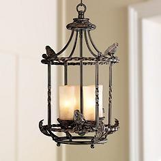 245 best lodge style lighting images on pinterest chandelier song birds 13 wide pendant indoor outdoor chandelier aloadofball Images