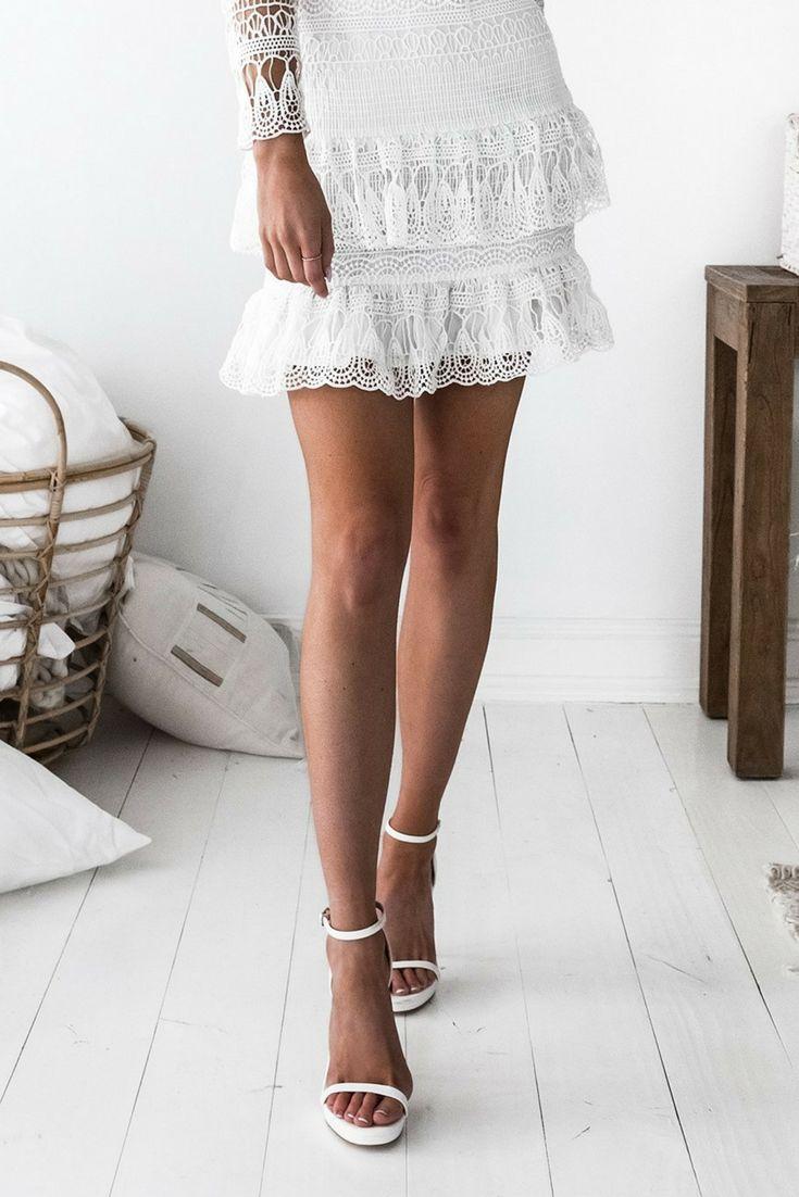 Victorian Dress White   One Fleur Boutique