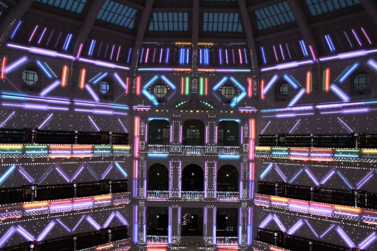 State Library of Victoria. White Night 2015