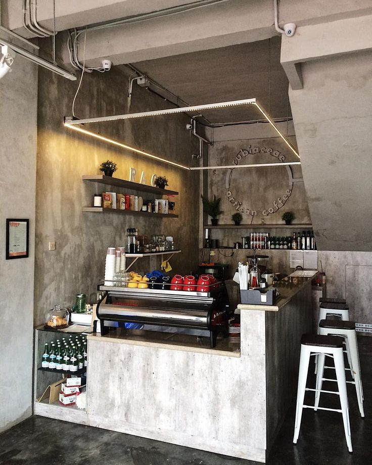 20+ Inspirations Of Coffee Place Design That Is Suitable
