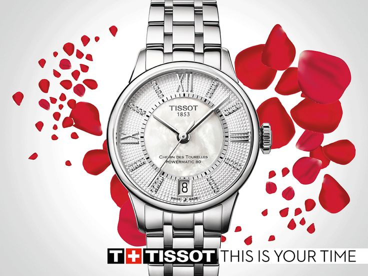 The new Tissot Chemin Des Tourelles Ladies range, come have a look at Woodlands! Spoil her this Valentines. #MyTissot #Thisisyourtime #ValentinesDLR