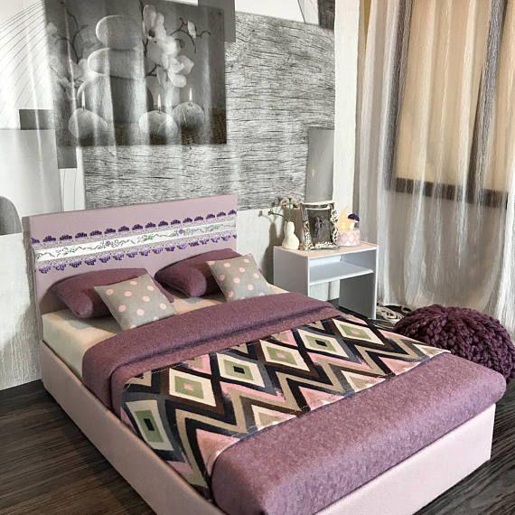 Nice Bett Schlafzimmer M bel Furniture f r Barbie Doll Puppe