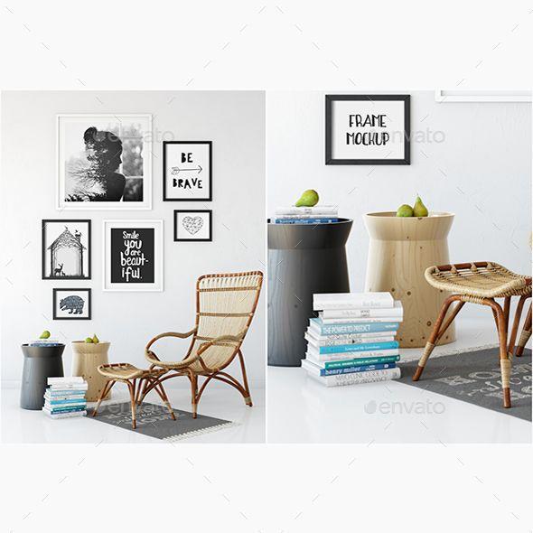 422 Best Interior Design Mockup Images On Pinterest Miniatures