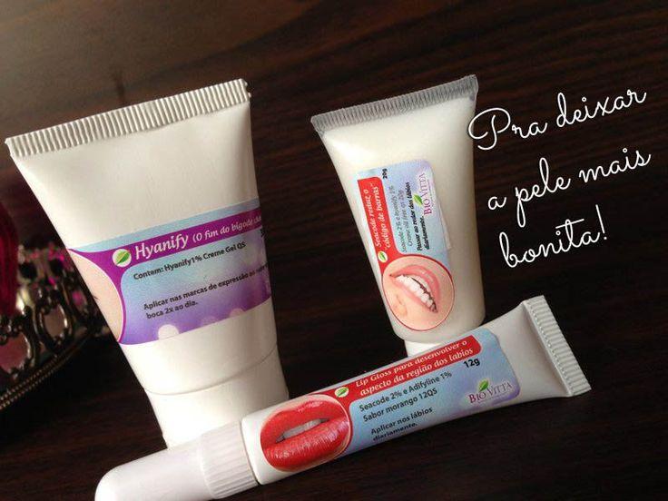 Produtos que fazem muita diferença na pele, combatendo as rugas, o bigode chinês e melhorando a firmeza facial!