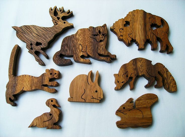 Free Scroll Saw Animal Puzzle Patterns - WoodWorking ...