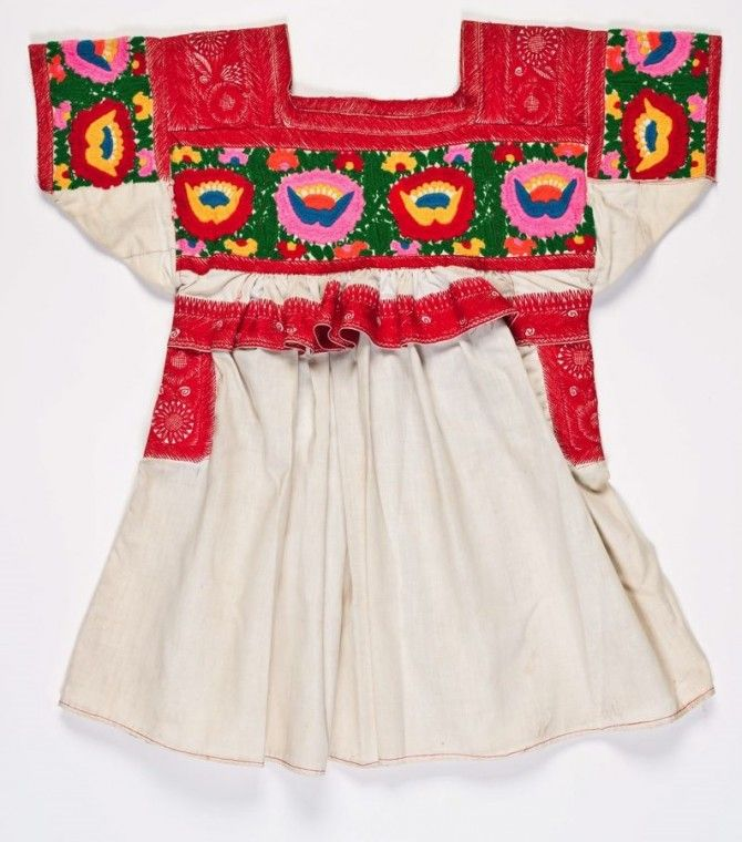 Woman's blouse (huipil), fourth quarter of 20th century, Mexico, Puebla, Chachahuantla, Nahua group