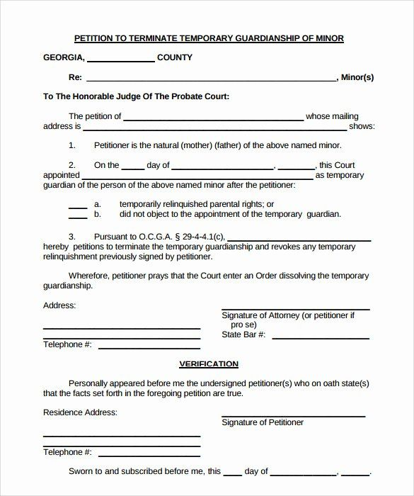 Free Temporary Guardianship Form Template Unique 9 Temporary Guardianship Form Templates To Download Guardianship Doctors Note Template Legal Guardianship