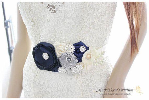 Bridal wedding belt