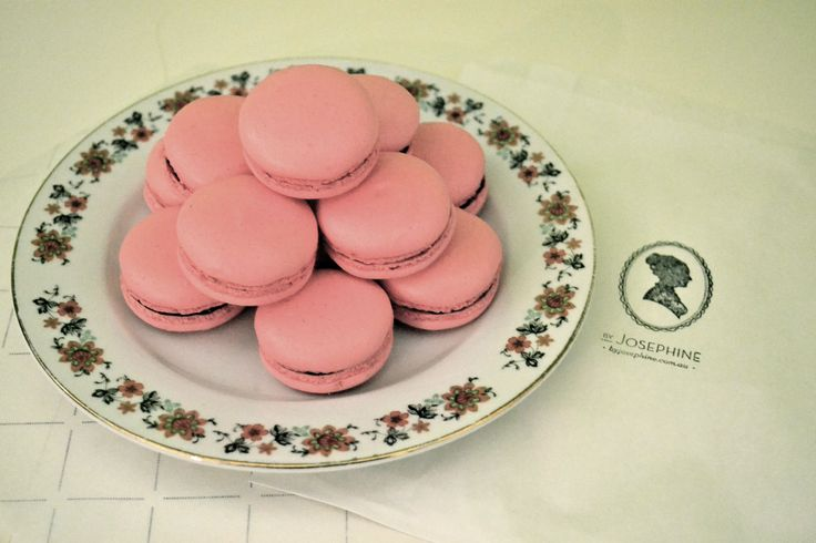 Raspberry and Chocolate: a delicate and audacious combination for one of our bestsellers.  Fresh raspberries held close in a milk chocolate ganache.  You'll be amazed by the fruity and acidulous taste of the raspberries balanced with the rich dark chocolate flavour…  http://macaronsbyjosephine.com.au/